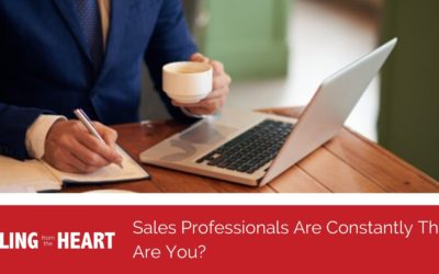Sales Professionals Are Constantly Thirsty, Are You?