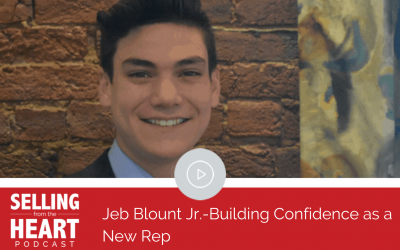 Jeb Blount Jr.-Building Confidence as a New Rep
